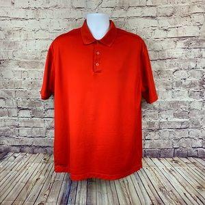 Nike Golf Red Short Sleeve Polo Shirt